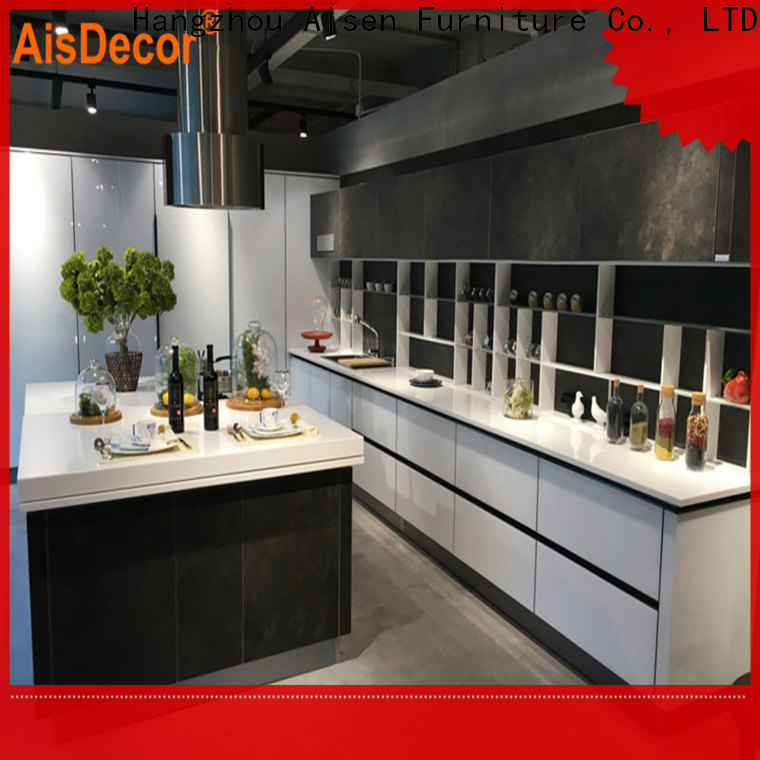 AisDecor shadow line kitchen cabinets overseas trader
