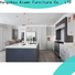 AisDecor wood and white kitchen cabinets factory