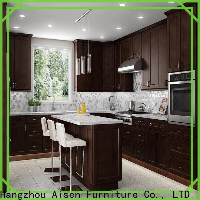 AisDecor custom gray shaker cabinets from China