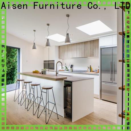 AisDecor lacquer kitchen cabinet supplier