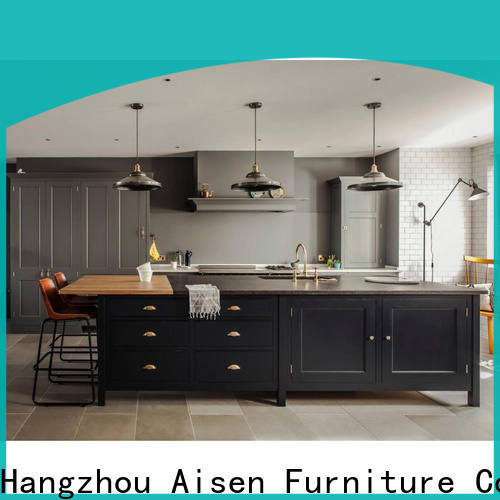 AisDecor new white wood kitchen cabinets manufacturer