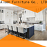 AisDecor cheap white shaker kitchen cabinets one-stop services