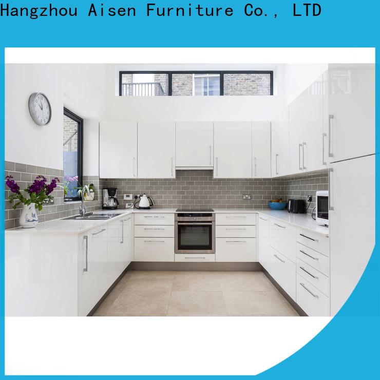 AisDecor custom lacquer kitchen cabinet international trader