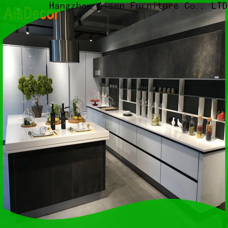 AisDecor shadow line kitchen cabinets overseas trader