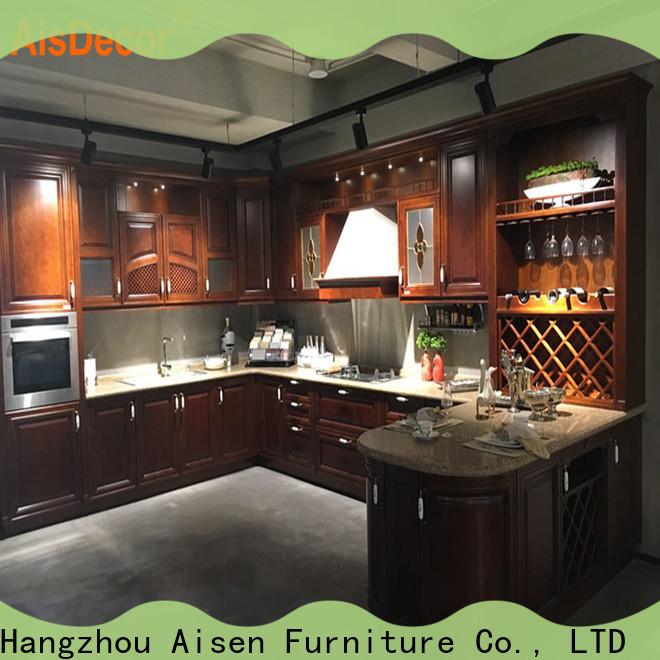 AisDecor cheap wood cabinets exporter