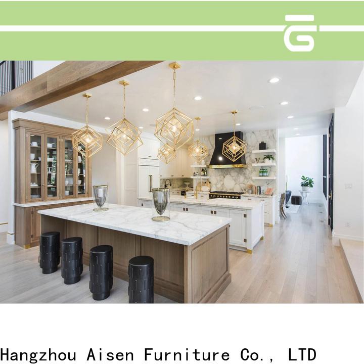 AisDecor cheap oak wood cabinets manufacturer