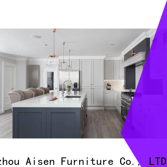 AisDecor reliable dark wood kitchen cabinets factory