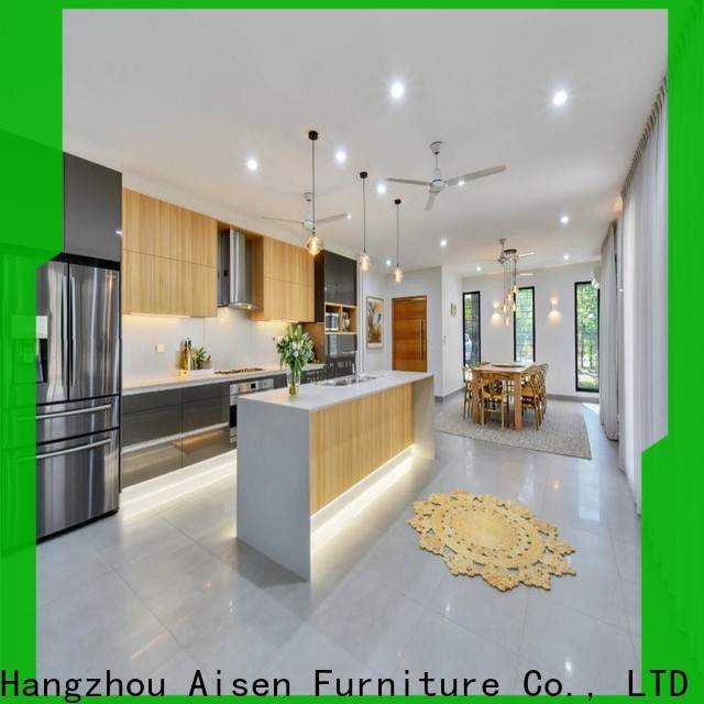 AisDecor lacquer kitchen cabinet one-stop solutions