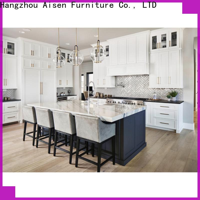 AisDecor oak wood cabinets manufacturer