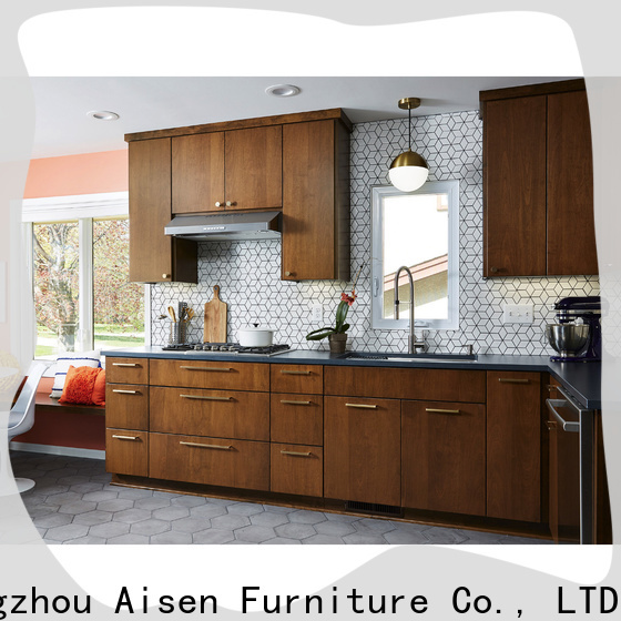 AisDecor new painting laminate kitchen cupboards from China