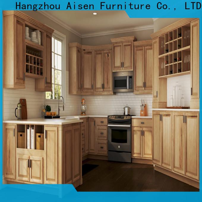 AisDecor custom white shaker style cabinets factory