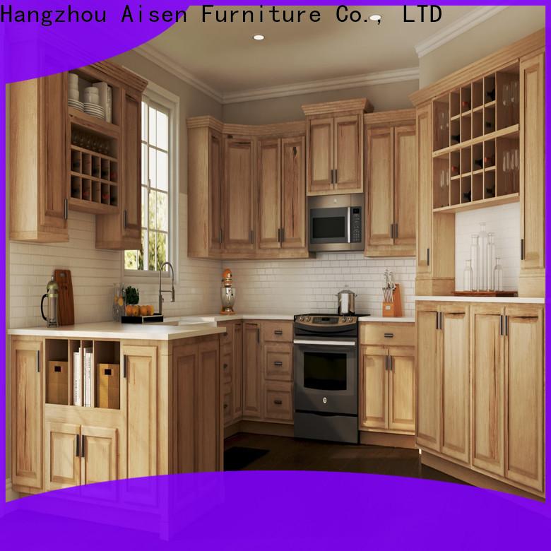 AisDecor white shaker style cabinets factory