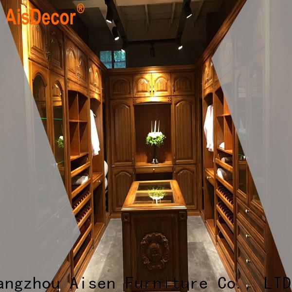AisDecor custom made closets overseas trader