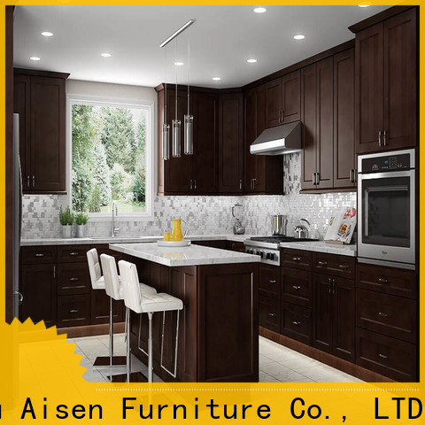 AisDecor best white shaker kitchen factory