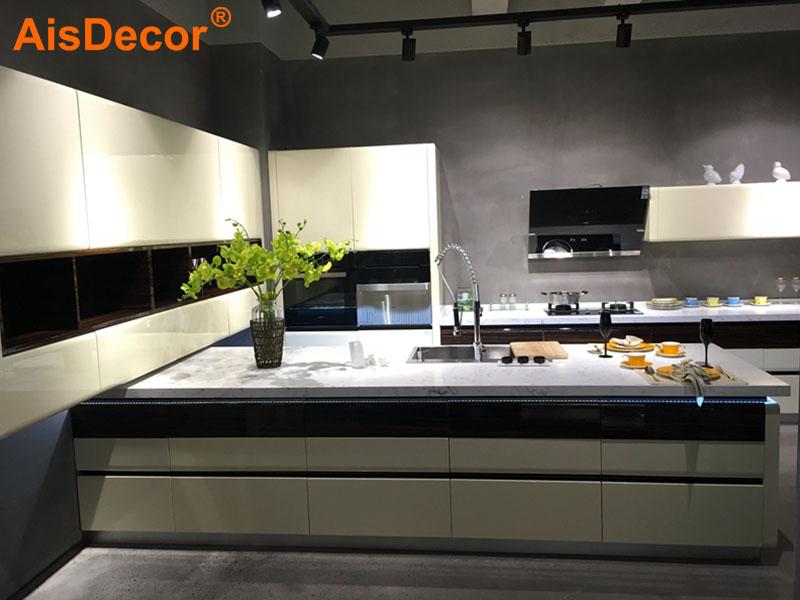 AisDecor lacquer kitchen cabinet overseas trader-1