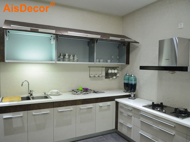 Affordable Economic L Shape Apartment Kitchen