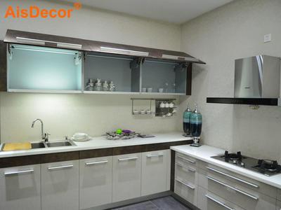 Affordable Economic L Shape Apartment Kitchen