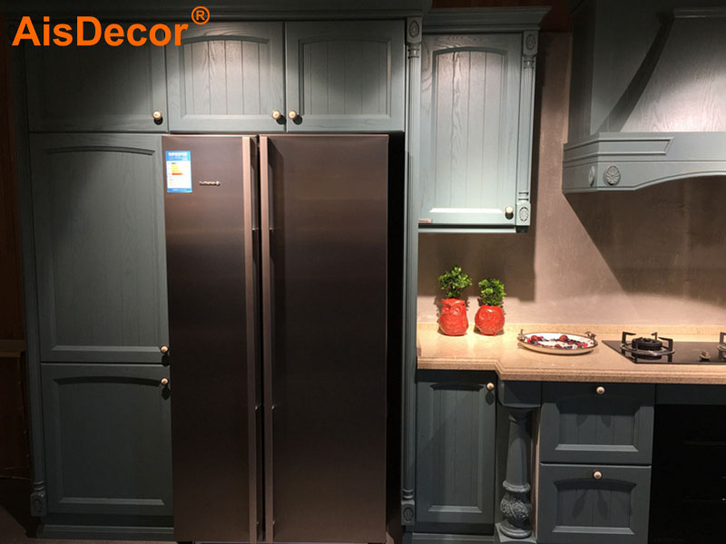 AisDecor reliable oak wood cabinets exporter-2