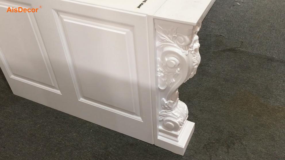 White Painted Pillar