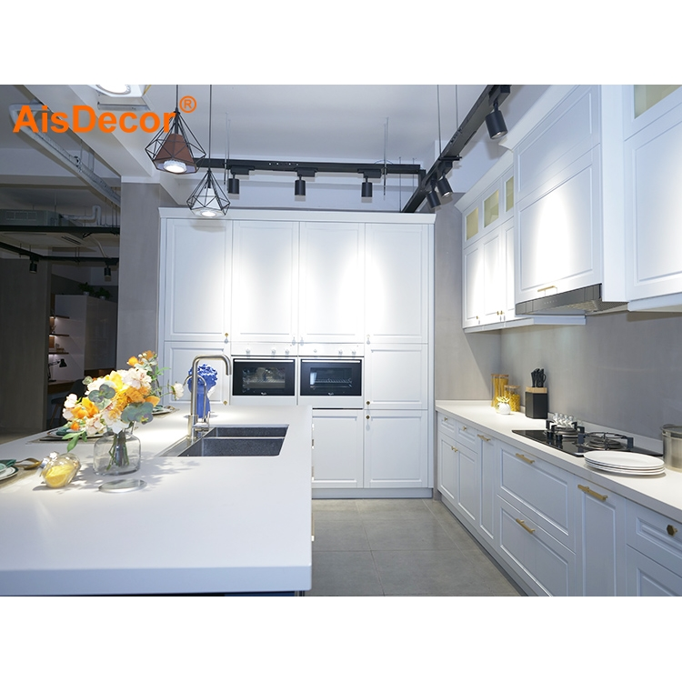 AisDecor solid wood kitchen cabinet supplier-1