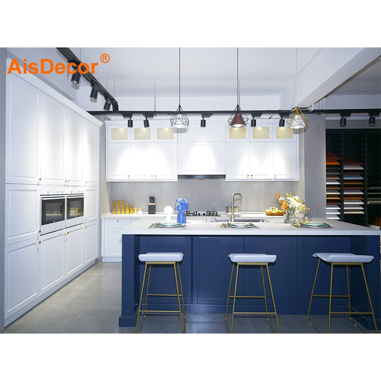 AisDecor solid wood kitchen cabinet supplier-2