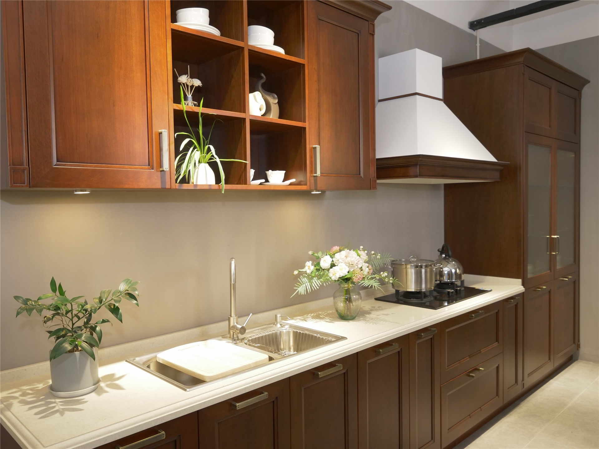 top-selling cherry kitchen cabinets exporter