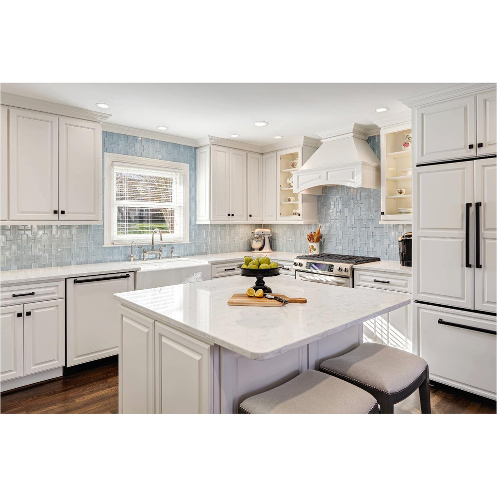 Best Quality Pure White Lacquer Kitchen Cabinet Factory Price-AisDecor