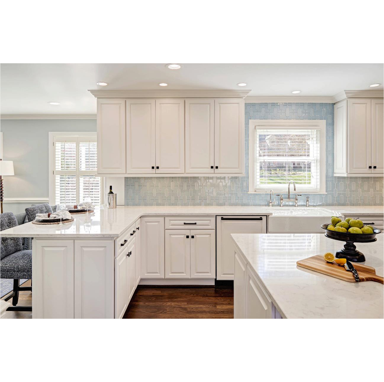 AisDecor top-selling gray cabinets kitchen wholesale-1
