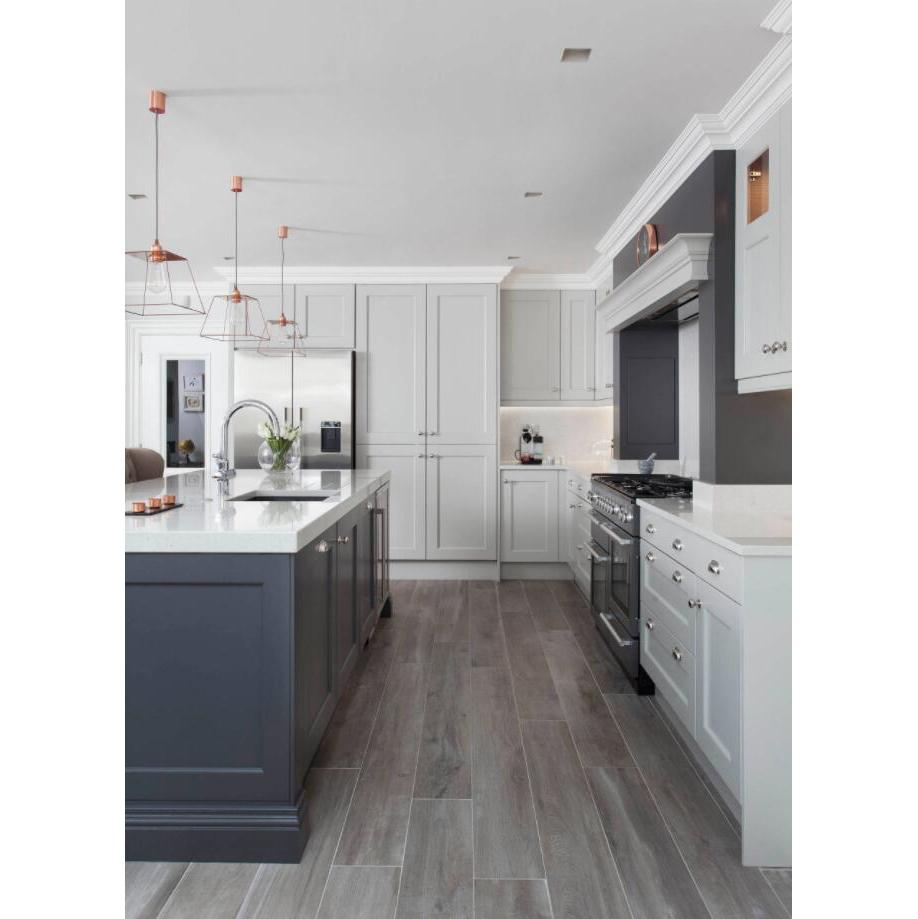 AisDecor new dark wood kitchen cabinets overseas trader-2