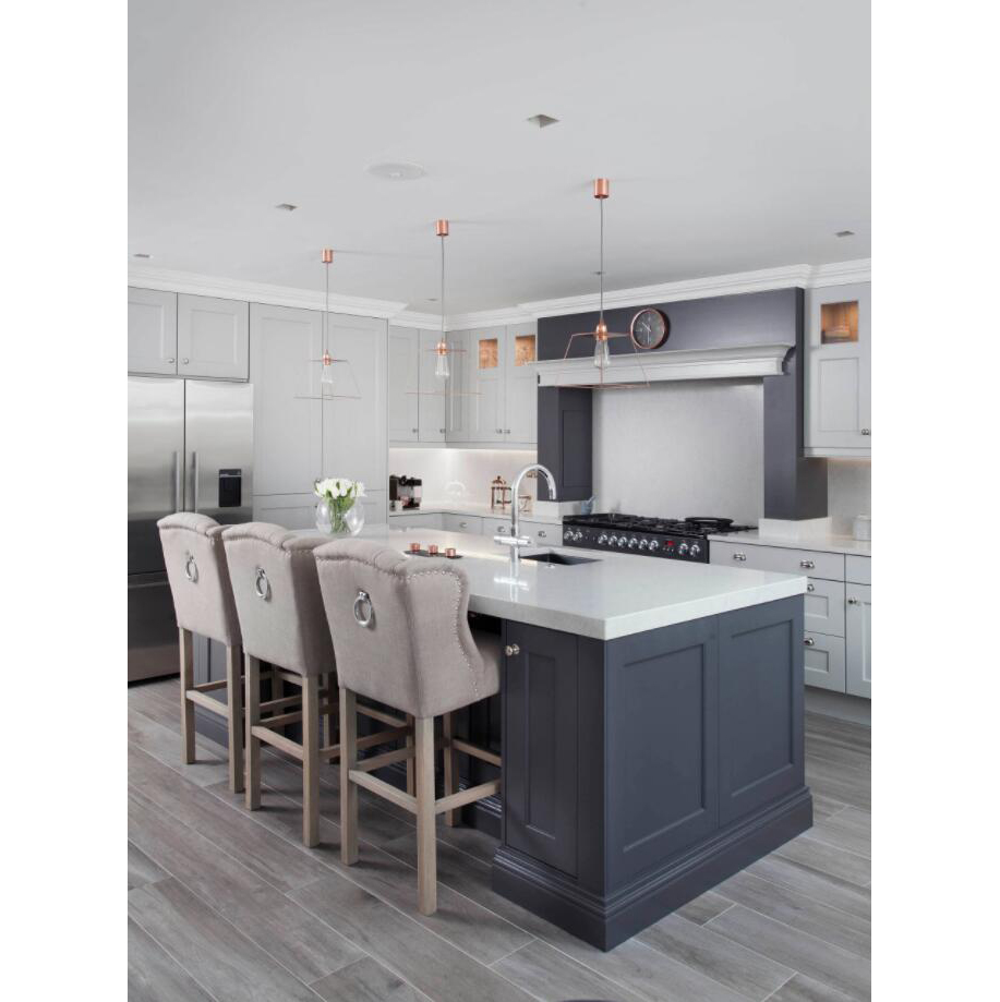 AisDecor new dark wood kitchen cabinets overseas trader-1