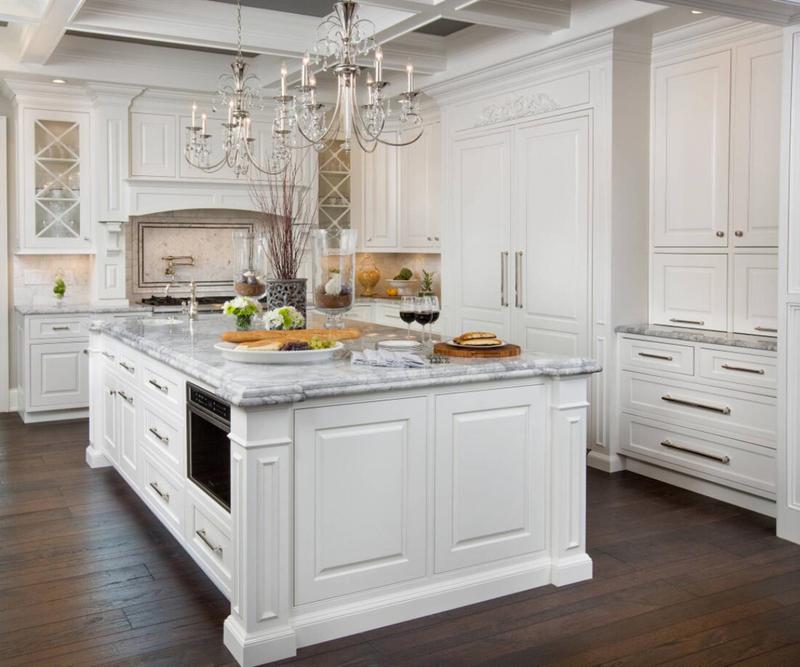 Kitchen Cabinets, French White Kitchen Cabinets