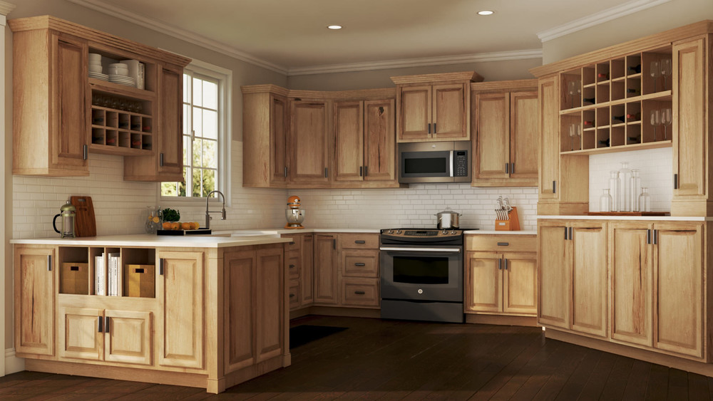 Completely Customized Color Solid Wood Shaker Style Kitchen Cabinet