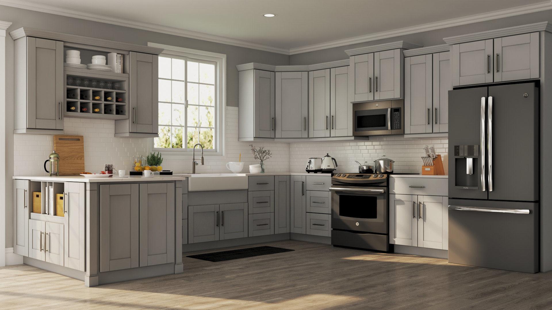 reliable white shaker kitchen manufacturer-2