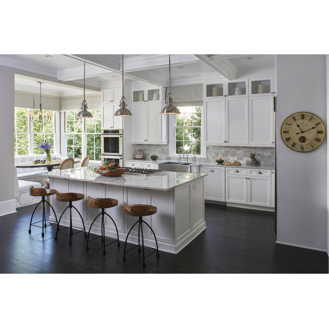 cheap gray shaker cabinets supplier-1