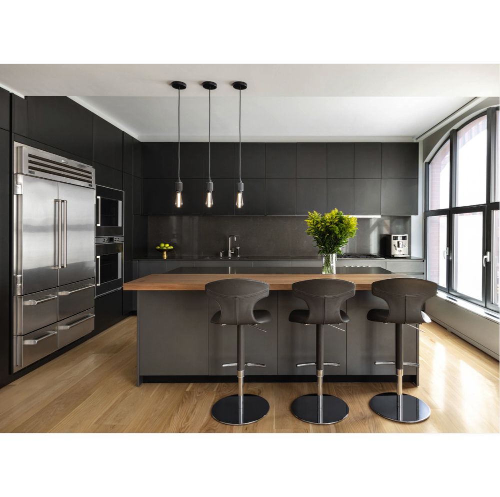 Chinese Factory Customized Color Lacquer Kitchen Cabinet