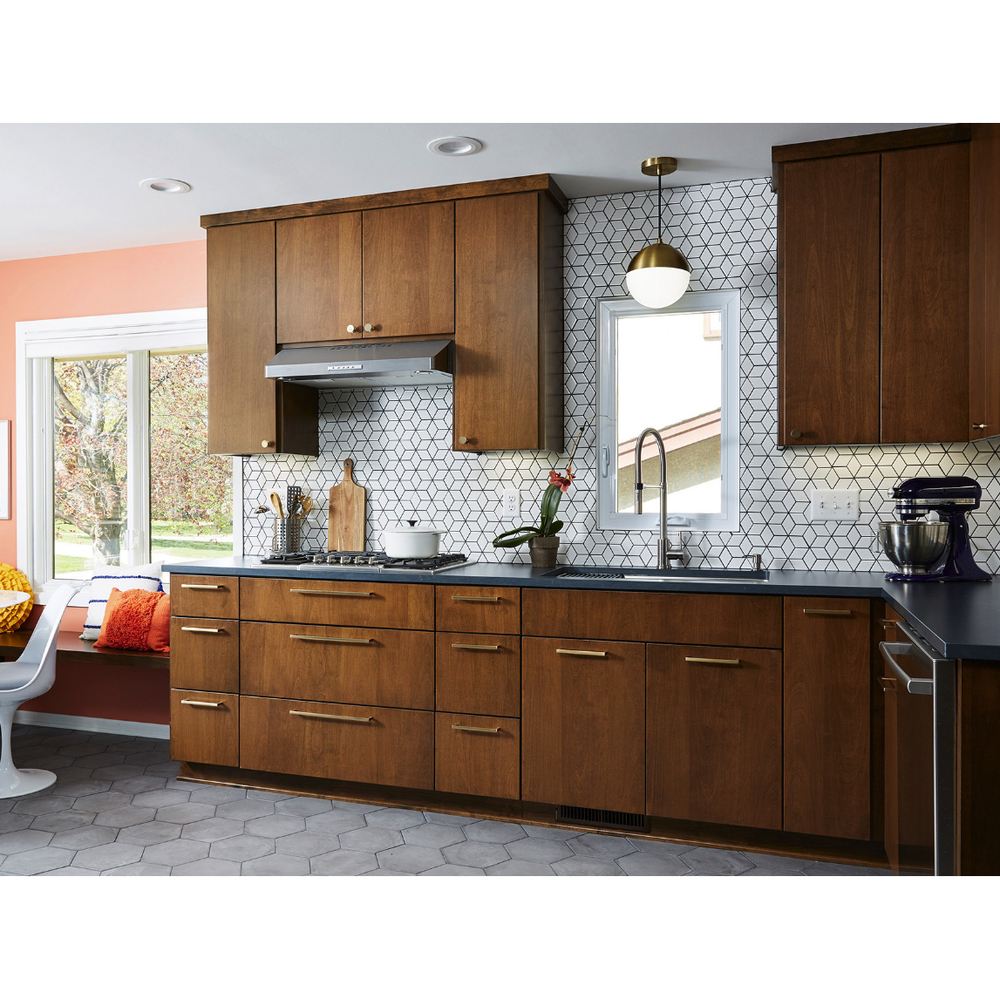 Hot Sale Factory Price Customize Color Wood Veneer Kitchen Cabinet